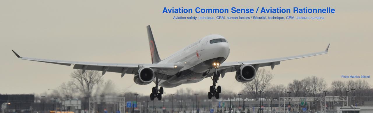 Aviation Common Sense
